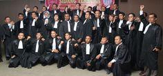 Sidang Terbuka Pelantikan dan Penyumpahan Advokat  Indonesia PERADIN di Hotel Grand Kanaya Medan tanggal 2 Maret 2013.