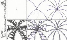 Cyrkus ~ Tangle Pattern by TheLonelyMaiden.deviantart.com on @DeviantArt