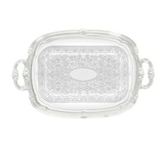 """Winco Serving Tray W/Handles - CMT-1912 Case Pack: 24  Serving Tray w/Handles, 19-/12"""" x 12-1'2"""", oblong, chrome plated, gadroon edge w/trad..."""