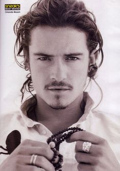 """woven ring"" by gurgel-segrillo. Orlando Bloom, personal collection"