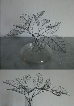 wire leaves:
