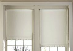 Light and Airy Window Treatment for Large Window