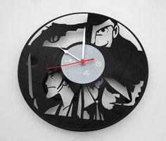 orologio  da parete in vinile