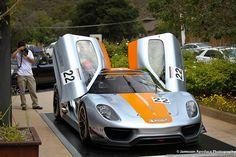 Porsche 918 RSR A car that's doors lift up ain't it dreamy