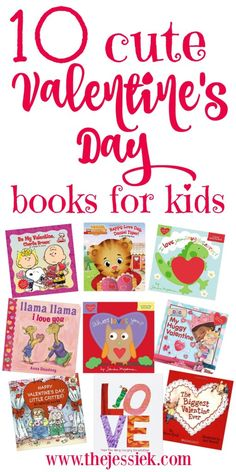 10 Cute Valentine's Day Books for Kids