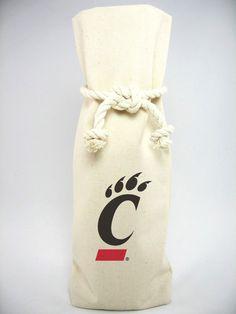 """""""Cincinnati"""" Canvas 1 Bottle Tote"""