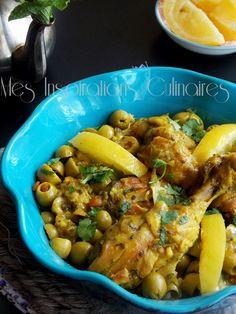 poulet au citron confit - ma recette préférée!!