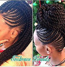 Braided Hairstyles For Black Women 23black braid hairstyles 250816 Find This Pin And More On Hair We Go By Latoyahunter2 Love Braided Hairstyles
