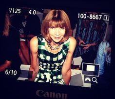 Anna Wintour at Reed Krakoff
