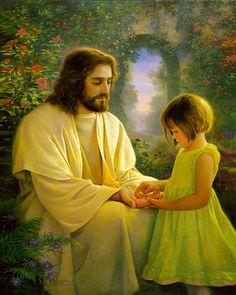Jesus Christ by Greg Olsen Images Du Christ, Pictures Of Jesus Christ, Greg Olsen Art, Image Jesus, Jesus Photo, Padre Celestial, Lds Art, Saint Esprit, Jesus Christ