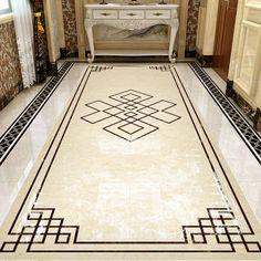 Floor Design, Ceiling Design, Tile Design, Marble Design Floor, Floor Patterns, Geometric Patterns, Versace Tiles, Geometric Pool, India Home Decor