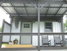 Modern house metalsheet design with 1 bedroom (12)