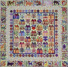 The Village Applique Quilt