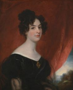Lady Ellen Stirling by Thomas Phillips, c. 1828