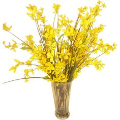 Found it at Joss & Main - Faux Yellow Forsythia
