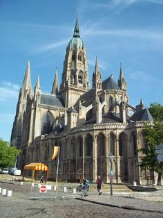 Monasteryin Bayeux, France
