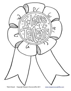Talent Show ideas for kindergarten, 1st or 2nd grade