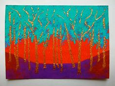 Twilight Woods 168 ARTIST TRADING CARDS 2.5 x 3.5 by MikeKrausArt