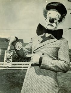 Bob Emrico with the Siebrand Bros Circus in the late 1950's