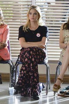 skirt pretty little liars maxi skirt ashley benson top