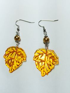 Now we are into leaf earrings!