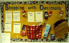 Shopping-With-Decimals-Bulletin-Board.jpg 508×321 pixels