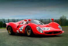 Ferrari P3 0844 - The Second most awesome GT Racing car ever !