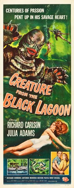 Creature from the Black Lagoon insert 1954