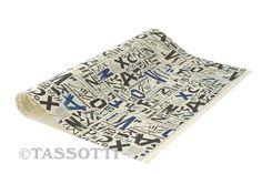 "Carta ""Abc"" - carta decorativa/ decorative paper ""Abc""/ Papeles decorativos ""Abc"""