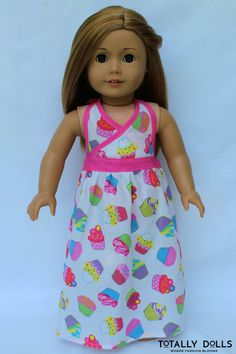 American Girl Birthday Bash Maxi Halter Dress by TotallyDolls