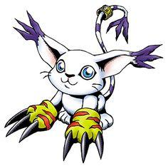 Tailmon (aka Gatomon) one of my favorite Digimon characters.