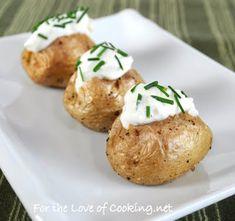 How cute are these mini potatoes?