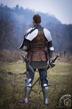 Medieval Knight, Medieval Armor, Medieval Fantasy, Armadura Medieval, Larp Armor, Knight Armor, Armor Clothing, Medieval Clothing, Grandeur Nature