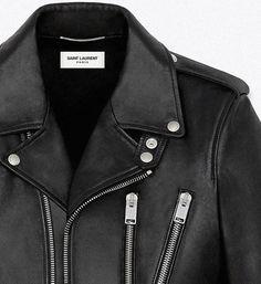YSL leather jacket.. dream jacket.