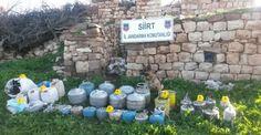 Siirt'de Vatandaşın ihbarıyla çok sayıda patlayıcı bulundu