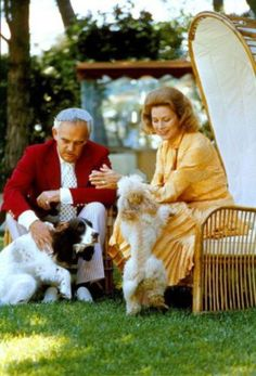 1973 Princess Grace and Prince Rainier . Photos by gianni bozzacchi