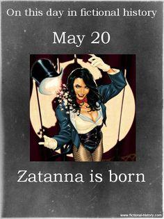 Fictional Birthday