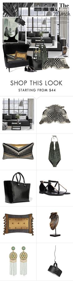 """THE PERFECT MATCH"" by mariapia65 ❤ liked on Polyvore featuring interior, interiors, interior design, home, home decor, interior decorating, NORR11, A by Amara, Tom Dixon and Villa Home Collection"