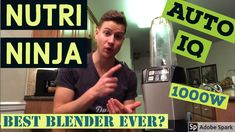 Nutri Ninja Auto IQ Review - Best Personal Blender for Superfood Smoothies / Protein Shakes? (1000w) - YouTube Magnesium Spray, Top Supplements, Superfood Smoothies, Best Probiotic, Collagen Protein, Green Powder, Grass Fed Beef, Protein Shakes, Ninja