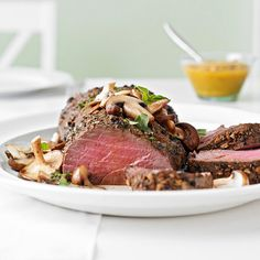 Cooking beef tenderloin for the holidays? Follow our intructions for the best way to tackle the task: http://www.bhg.com/recipes/how-to/handling-meat/how-to-cook-beef-tenderloin/?socsrc=bhgpin112213howtocookbeeftenderloin