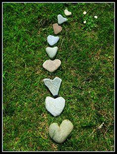 {my heart stone collection} I Love Heart, Happy Heart, Humble Heart, Heart In Nature, Heart Art, Heart Shaped Rocks, Heart Images, Follow Your Heart, Stone Heart