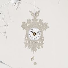 Cuckoo Clock Ornament in Holiday Trim Your Tree Ornaments at Terrain