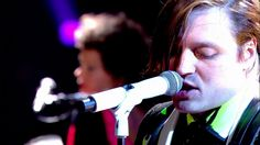 Canadian band Arcade Fire - We Exist - Later with Jools Holland - Indie rock band based in Montreal, Quebec, Canada, consisting of husband and wife Win Butler and Régine Chassagne, along with Win's brother Will Butler, Richard Reed Parry, Tim Kingsbury and Jeremy Gara.