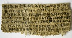 According to a top religion scholar, this 1,600-year-old text fragment suggests that some early Christians believed Jesus was married—possibly to Mary Magdalene