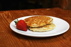 Healthy Breakfast Oatmeal Pancakes - from miraclerecipes.com