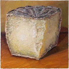 Camel's Back - My first taste of this cheese was at a table with the owners, Thomas and Barbara Schaer, of Meadowset farm and Apiary. The farm is outside of Philadelphia on the Delaware border. Thomas is Swiss born and he and his wife began making cheese from their heard of sheep in addition to being full-time vetenarians!  sold, prints are available on mikegeno.com