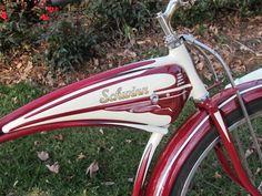 Sale Photo #: Vintage-Professionally Restored Classic  1950's Schwinn Bicycle