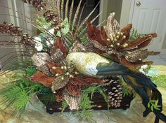 Christmas Silk Floral Arrangement