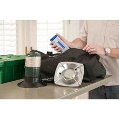 THE Grab-n-Go Accessory Kit is the perfect addition to a Grab-n-Go Pack or a Responder.    INCLUDES        Heavy-duty carry bag      Includes Katadyn Hiker Pro Water Purifier      Century LP Gas Stove (fuel not included)