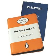 """This little thing!!! """"On the Road"""" Penguin Passport Case. Yes."""